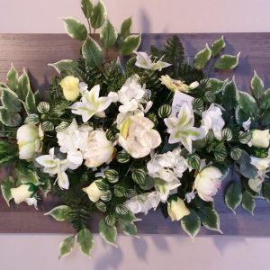 Maison Guérin Nos produits Raquette de fleurs artificielles en longueur